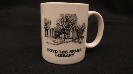 Boyd Lee Spahr Library Mug, c.1990