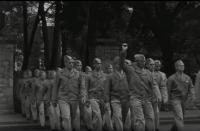 32nd College Training (Air Crew) Marching, 1943