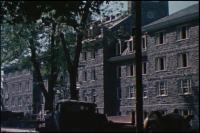 Construction of Drayer Hall, 1952