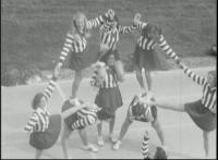 Cheerleaders at Football Game vs. Franklin & Marshall College, 1979