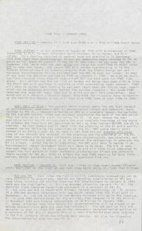 PANE Newsletters, 1982