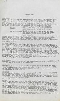 PANE Newsletters, 1985