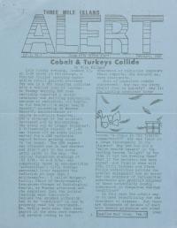 Three Mile Island Alert Newsletters, 1980