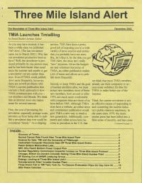 Three Mile Island Alert Newsletter (Dec. 2002)