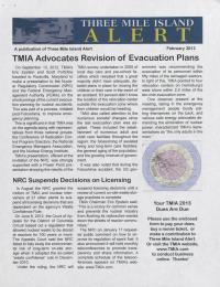 Three Mile Island Alert Newsletter (Feb. 2013)