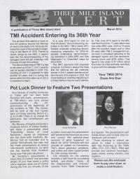 Three Mile Island Alert Newsletter (Mar. 2014)