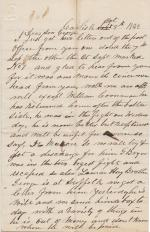 Letter from Jacob Bretz to George Bretz