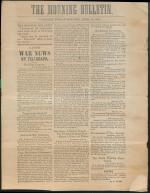 Carlisle Morning Bulletin - April 19, 1861