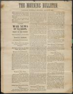 Carlisle Morning Bulletin - April 20, 1861