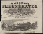 "Frank Leslie's Illustrated Newspaper, ""Carlisle... Barracks Destroyed"""