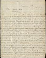 Letter from George D. Chenoweth to James W. Marshall