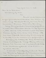 Letter from Thomas Devin to Edwin Stanton (Copy)