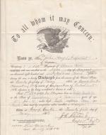 John Hays II Discharge Certificate