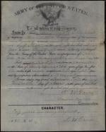 John Black Discharge Certificate