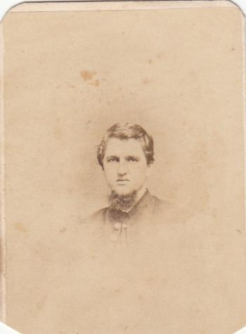 John Black in Uniform, 1862
