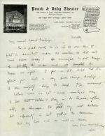 Letter, c.1910s (Box 1, folder 1)