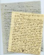 Letters, 1836, 1847 (Box 1, folder 28)