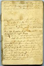 Record of sermons, 1817 (Box 1, folder 11)