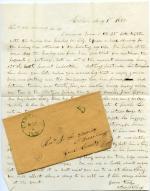 Letter, 1850 (Box 1, folder 2)