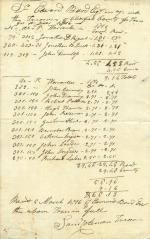 Receipt for taxes, 1816 (Box 1, folder 9)