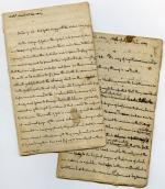 Sermons, 1807 (Box 1, folder 5)