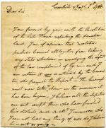 Letter, 1785 (Box 1, folder 5)