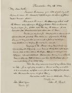 Letter, 1844 (Box 1, folder 1)