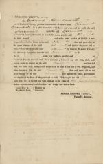 Legal brief, 1815 (Box 3, folder 1)