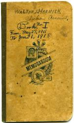 Account book, 1911-1915 (Box 1, folder 5)