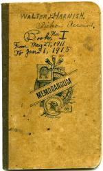 Account book, 1911-1915 (Box 1, folder 5)