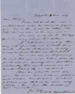 Letter, 1859 (Box 3, folder 10)