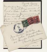 Letter, 1926 (Box 1, folder 6)