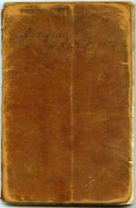 Travel journal, 1776 (Box 1, folder 8)
