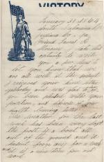 Letter, 1864 (Box 1, folder 8)