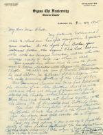 Letter from John Black, Jr. papers