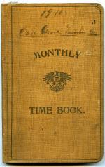 Time Book, 1910 (Box 1, folder 7)