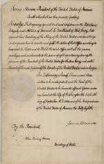 Certificate, 1823 (Box 1, folder 14)