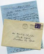 Letter, 1953 (Box 2, folder 20)