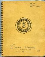 Notebook, undated (Box 1, folder 5)
