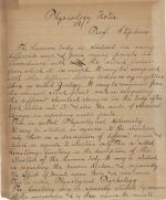 Notebook, c.1895 (Box 1, folder 1)