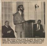 Newsclipping, 1984 (Box 1, folder 8)