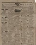 Newspaper, 1817 (Oversized, folder 1)