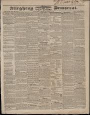 Allegheny Democrat - September 30, 1834