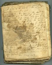 Diary, 1805-1809 (Box 1, folder 1)