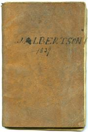 Day Book, 1839 (Box 1, folder 30)