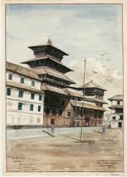 Watercolor, undated (Box 1, folder 8)
