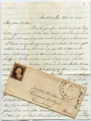 Letter, Oct. 1859 (Box 1, folder 2)