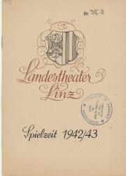 Program, 1943 (Box 1, folder 12)