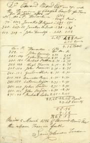 Receipt for taxes, 1816 (Box 1, folder 9)