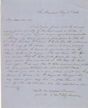 Letter, 1853 (Box 1, folder 10)